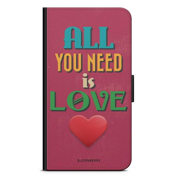 Bjornberry Plånboksfodral Huawei Y6 (2017)- All You Need Is Love