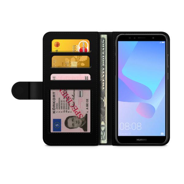 Bjornberry Plånboksfodral Huawei Y6 (2018)- Najma