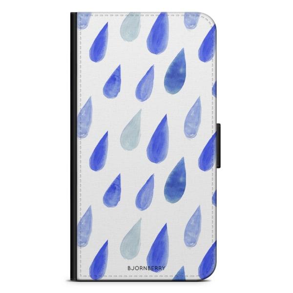 Bjornberry Plånboksfodral iPhone 5C - Regndroppar