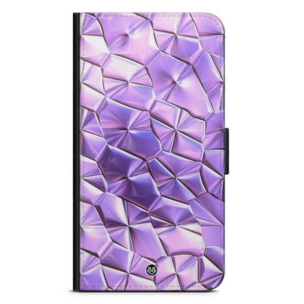 Bjornberry Plånboksfodral iPhone 7 Plus - Purple Crystal
