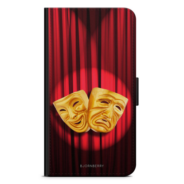 Bjornberry Plånboksfodral iPhone 7 Plus - Teater Mask
