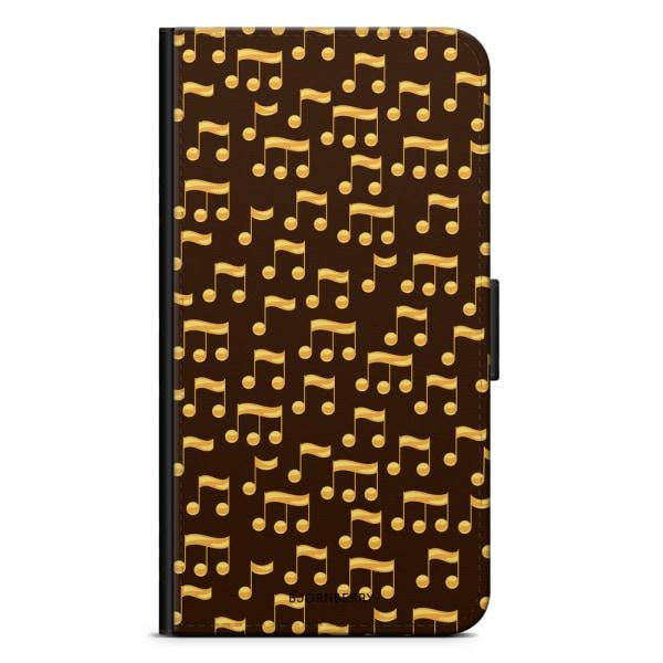 Bjornberry Plånboksfodral iPhone XR - Musik Noter