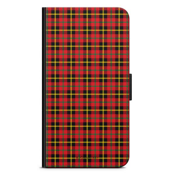 Bjornberry Plånboksfodral iPhone XR - Tartan