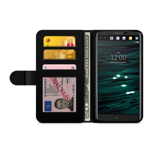 Bjornberry Plånboksfodral LG V10 - Rosa
