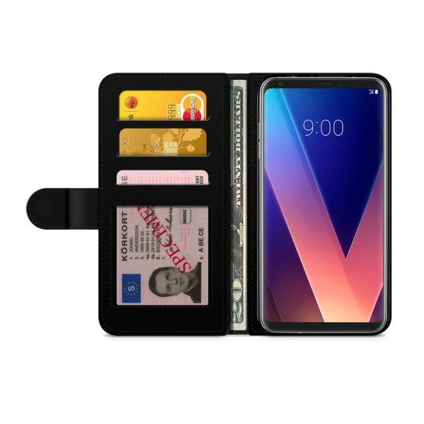Bjornberry Plånboksfodral LG V30 - Glassar
