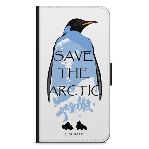 Bjornberry Plånboksfodral Moto G5 Plus - Save the Arctic