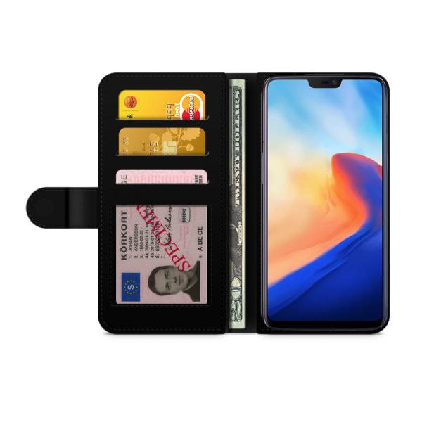 Bjornberry Plånboksfodral OnePlus 6T - Döskalle Kors