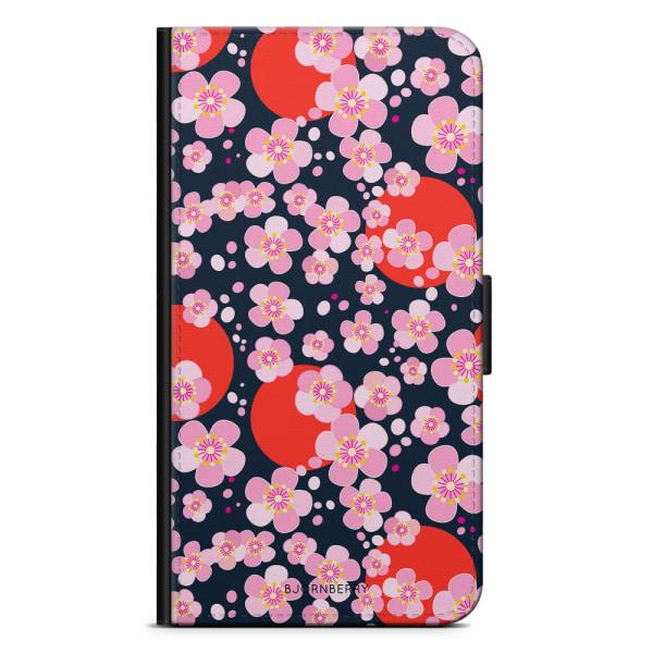Bjornberry Plånboksfodral OnePlus 6T - Japan Blommor