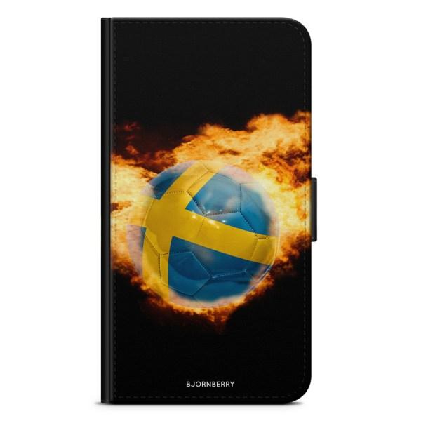 Bjornberry Plånboksfodral OnePlus 6T - Sverige Fotboll