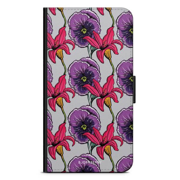 Bjornberry Plånboksfodral OnePlus 8 - Blommor