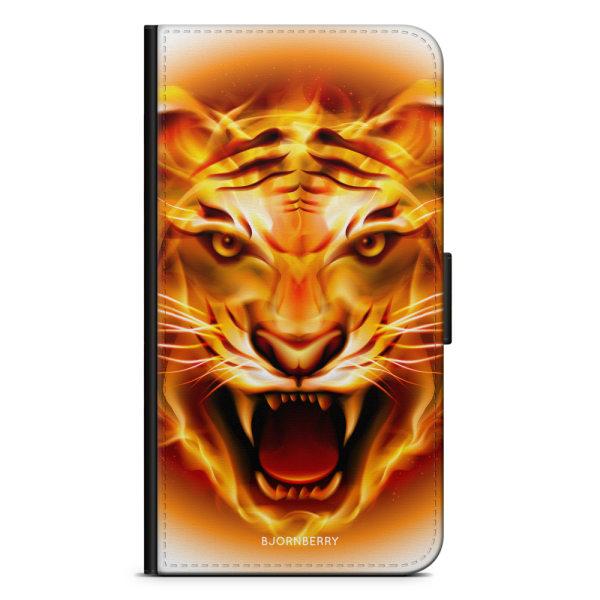 Bjornberry Plånboksfodral OnePlus 8 Pro - Flames Tiger
