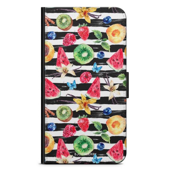 Bjornberry Plånboksfodral OnePlus 8 Pro - Tropiska Frukter