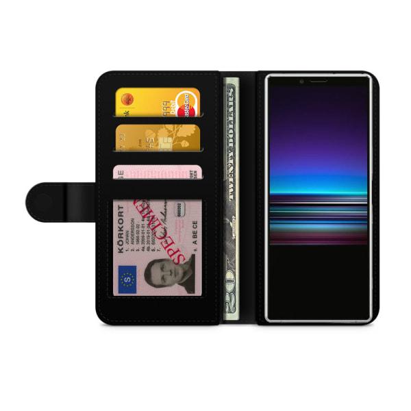 Bjornberry Plånboksfodral Sony Xperia 1 - Fidget Spinner