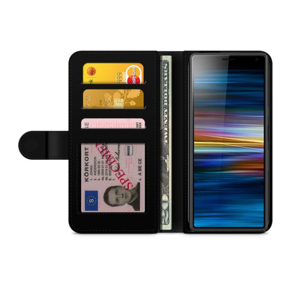 Bjornberry Plånboksfodral Sony Xperia 10 - Söt Lama