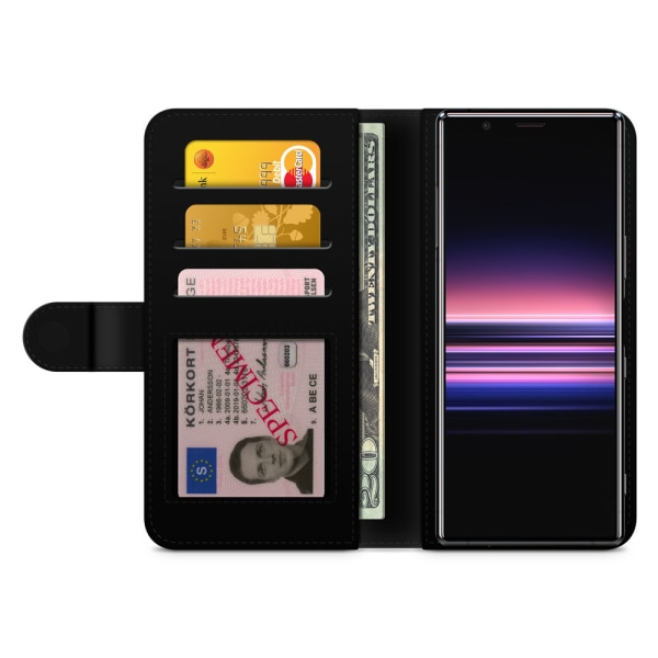 Bjornberry Plånboksfodral Sony Xperia 5 - Lena