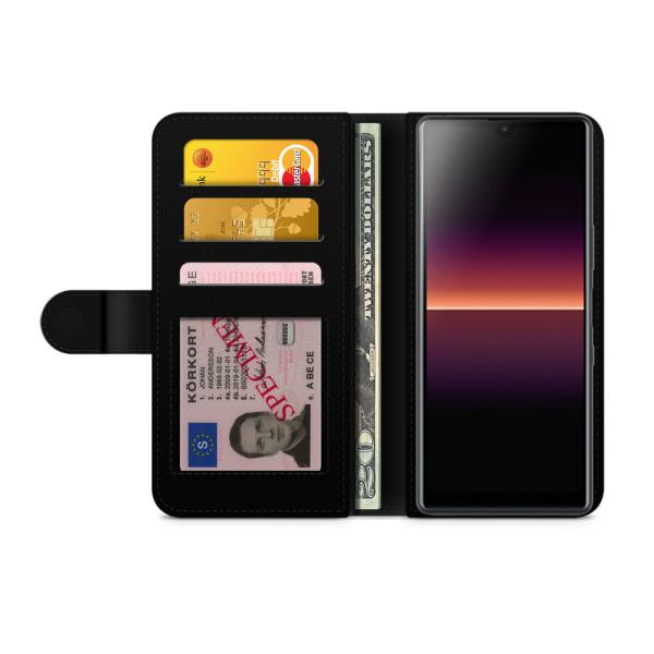 Bjornberry Plånboksfodral Sony Xperia L4 - Vit Guld Mandala