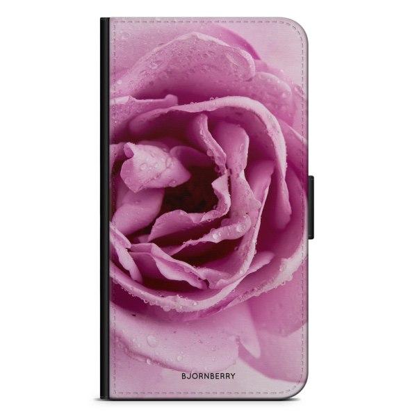 Bjornberry Plånboksfodral Sony Xperia XA - Lila Ros