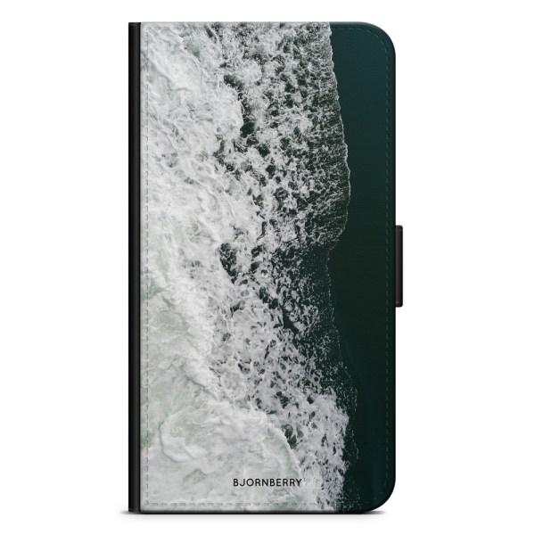 Bjornberry Plånboksfodral Sony Xperia XA - Vågor