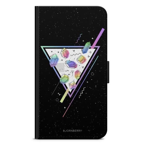 Bjornberry Plånboksfodral Sony Xperia XA1 - Space Triangle
