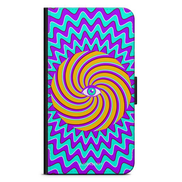 Bjornberry Plånboksfodral Sony Xperia XA2 - Färgglad Hypnotisk
