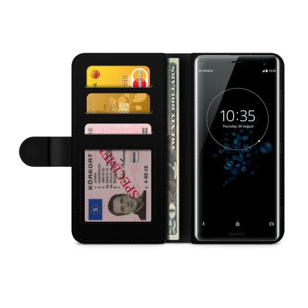 Bjornberry Plånboksfodral Sony Xperia XZ3 - Rosanna