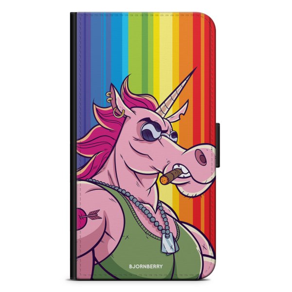 Bjornberry Plånboksfodral Sony Xperia Z3 - Muscle Unicorn