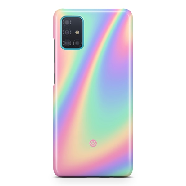 Bjornberry Samsung Galaxy A51 Premiumskal - Rainbow