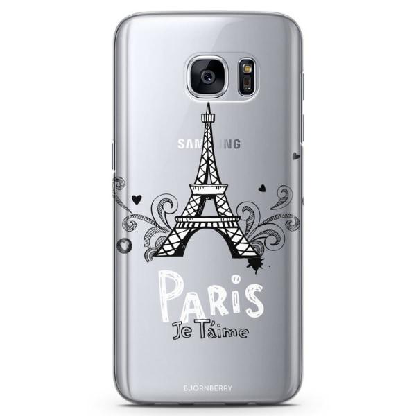 Bjornberry Samsung Galaxy S6 Edge TPU Skal -Paris