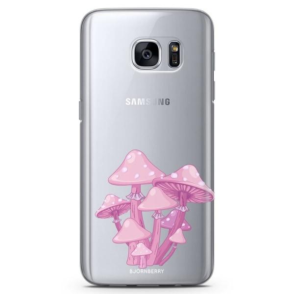 Bjornberry Samsung Galaxy S7 Edge TPU Skal -Magic Mushroom