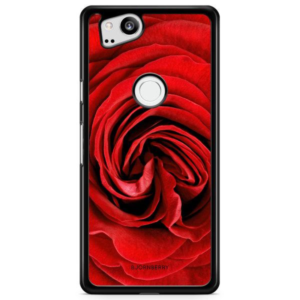Bjornberry Skal Google Pixel 2 - Röd Ros