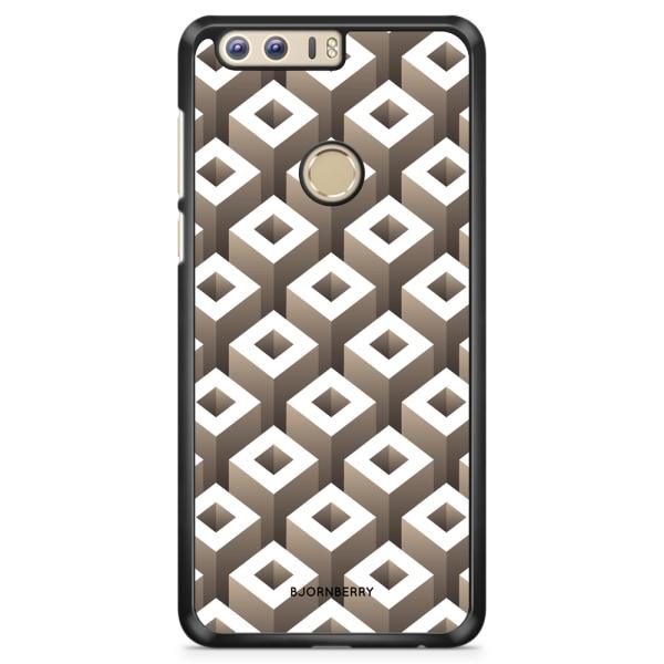 Bjornberry Skal Huawei Honor 8 - Geometriska mönster