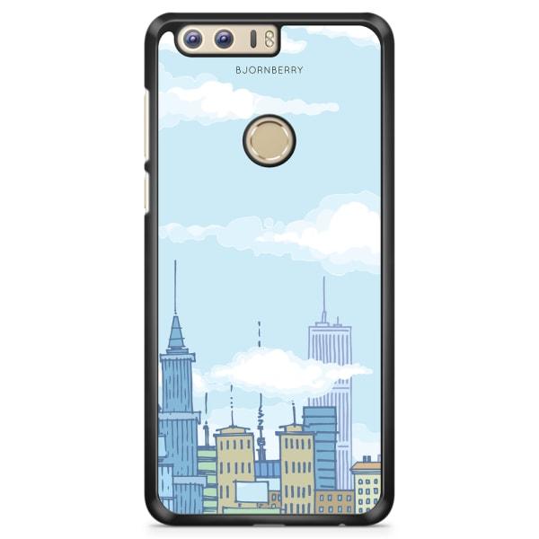 Bjornberry Skal Huawei Honor 8 - Tecknad Skyline