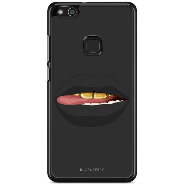 Bjornberry Skal Huawei P10 Lite - Läppar Guld