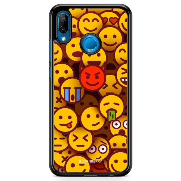 Bjornberry Skal Huawei P20 Lite - Emojis