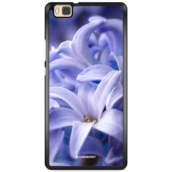 Bjornberry Skal Huawei P8 Lite - Blå blomma