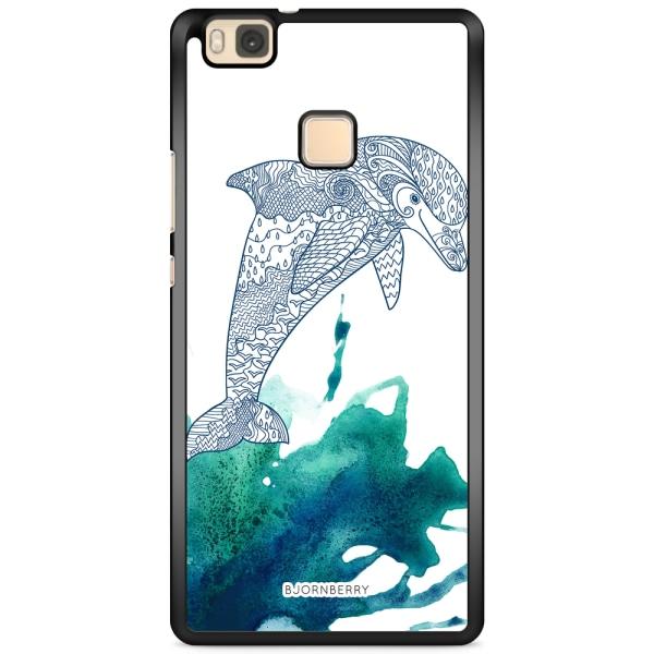 Bjornberry Skal Huawei P9 Lite - Mandala Delfin