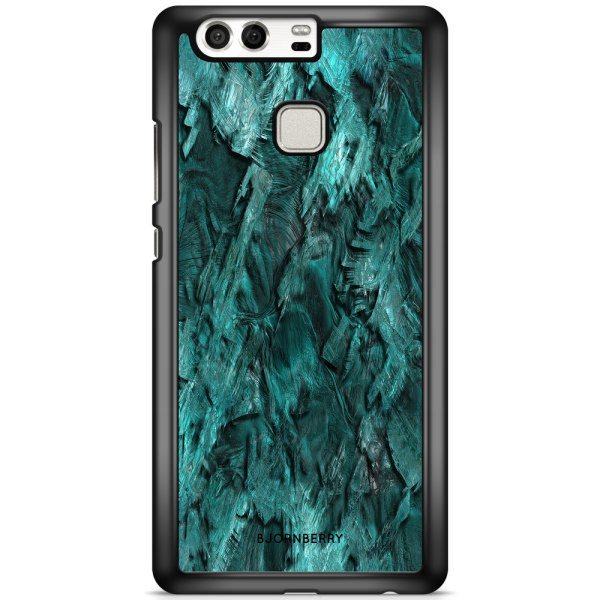 Bjornberry Skal Huawei P9 Plus - Grön Kristall