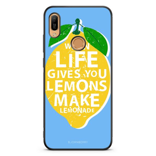Bjornberry Skal Huawei Y6 2019 - Citron Citat