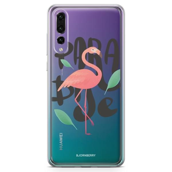 Bjornberry Skal Hybrid Huawei P20 Pro - Paradise Flamingo