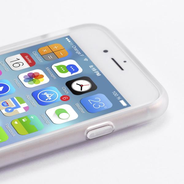 Bjornberry Skal Hybrid iPhone 8 Plus - Guld Blommor
