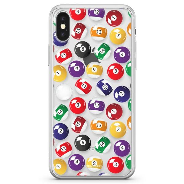 Bjornberry Skal Hybrid iPhone X / XS - Biljardbollar