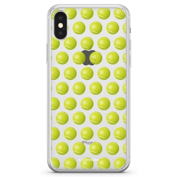 Bjornberry Skal Hybrid iPhone X / XS - Tennisbollar