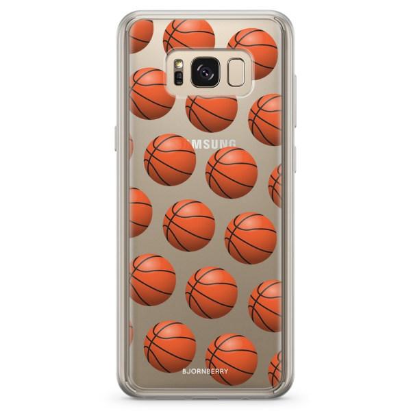 Bjornberry Skal Hybrid Samsung Galaxy S8+ - Basketbollar