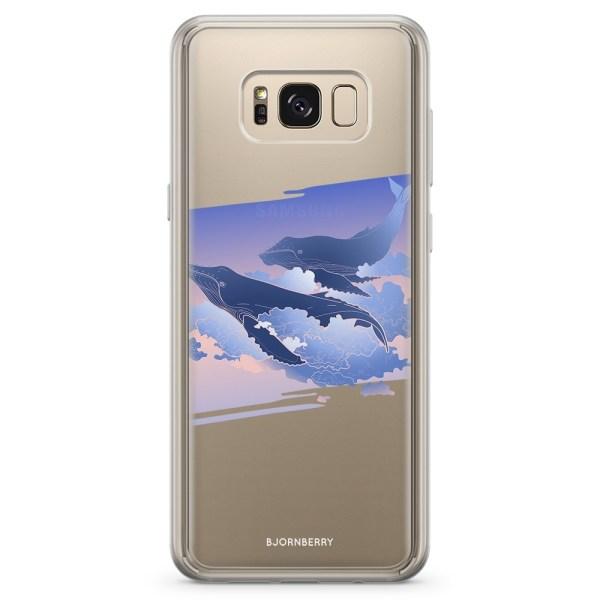 Bjornberry Skal Hybrid Samsung Galaxy S8 - Flygande valar