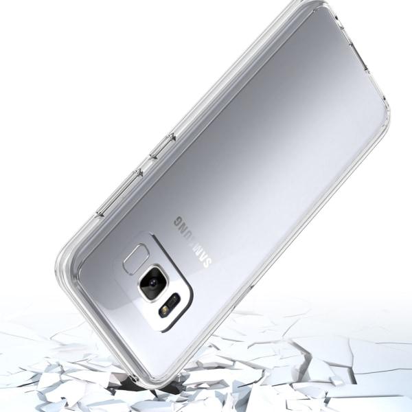 Bjornberry Skal Hybrid Samsung Galaxy S8+ - Afrika Blå