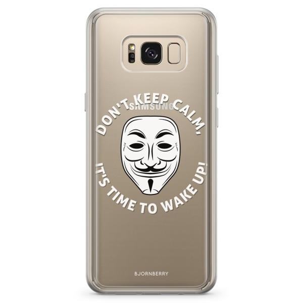 Bjornberry Skal Hybrid Samsung Galaxy S8 - Time To Wake Up
