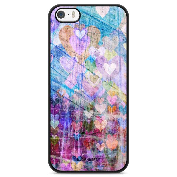 Bjornberry Skal iPhone 5/5s/SE - Hjärtan