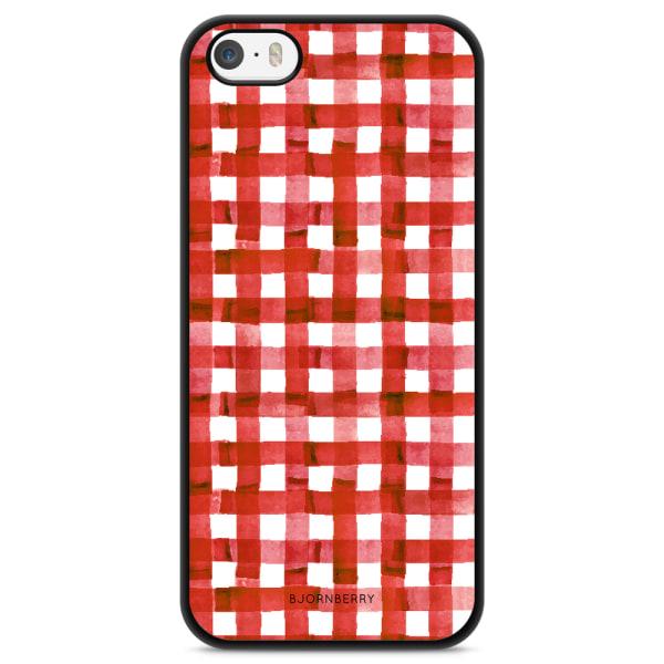 Bjornberry Skal iPhone 5/5s/SE - Röda Ränder