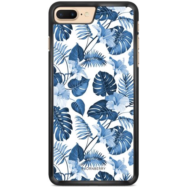 Bjornberry Skal iPhone 7 Plus - Blå Blommor