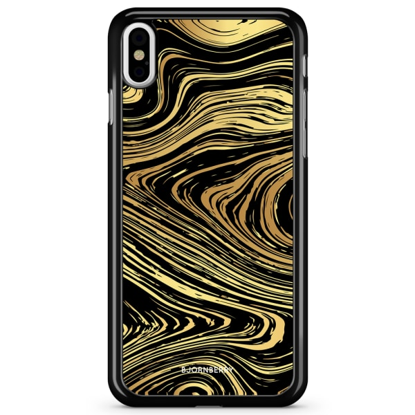 Bjornberry Skal iPhone X / XS - Guld Marmor
